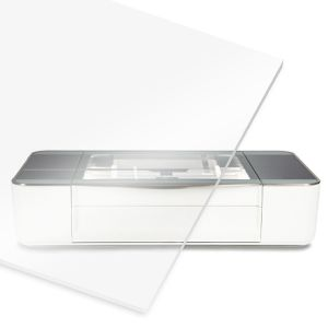 Clear Polycarbonate Sheet for At Home Laser Cutter CNC Router - Impact Resistant