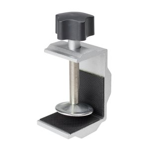 Heavy Duty Clamp-on Bracket for Partition, Divider and Sneeze Guard