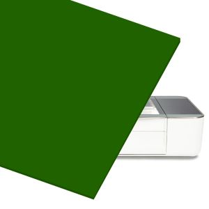 Green Acrylic Sheet for At Home Laser Cutter CNC Router