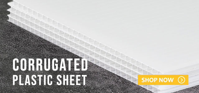 Shop by Corrugated Plastic Sheet